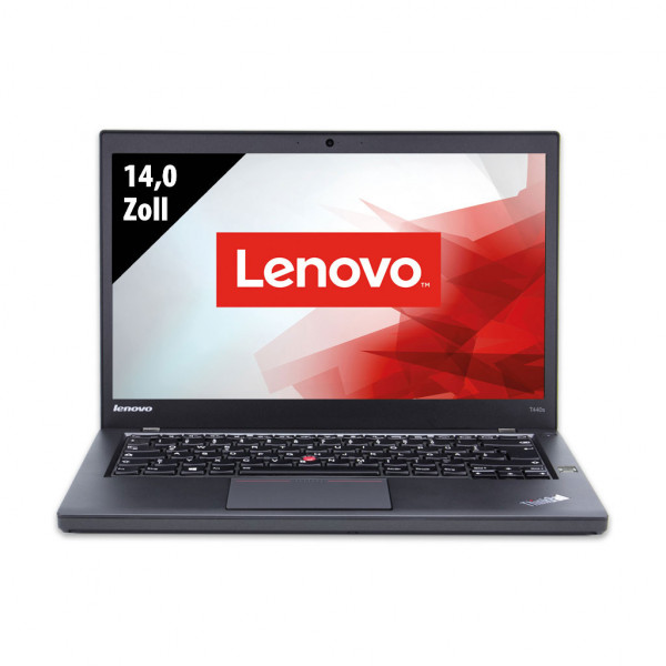 Lenovo ThinkPad T440s - 14,0 Zoll - Core i7-4600U @ 2,1 GHz - 8GB RAM - 250GB SSD - FHD (1920x1080) - Webcam - Win10Pro