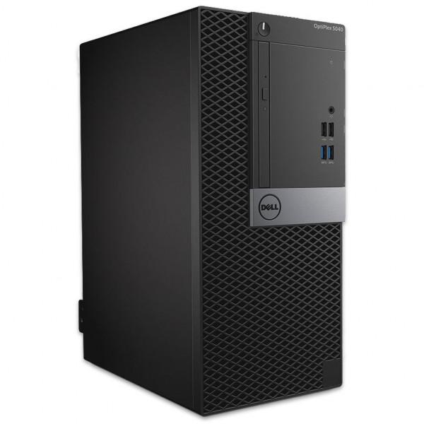 Dell OptiPlex 5040 MT - Core i3-6100 @ 3,7 GHz - 8GB RAM - 250GB SSD - DVD-RW - Win10Home