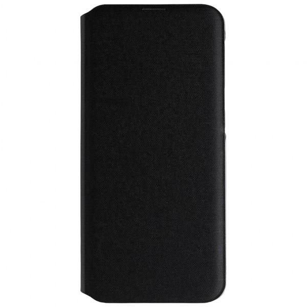 Samsung Wallet Cover - Handyhülle (Galaxy A20e) - Schwarz