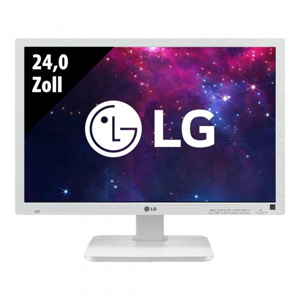 LG 24MB65PM-V - 24,0 Zoll - WUXGA (1920x1200) - 5ms - weiß
