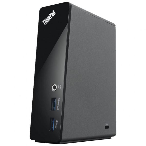 Lenovo - ThinkPad USB 3.0 Dock Universal Docking Station - ohne Kabelverbindungen /Netzteil (DU9019D1)