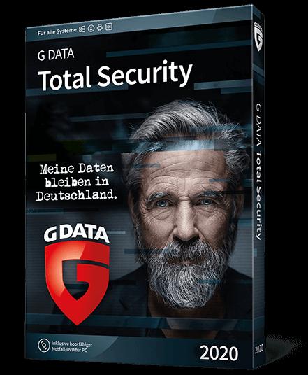 G Data Total Security 2020 für 3 Geräte und 1 Jahr