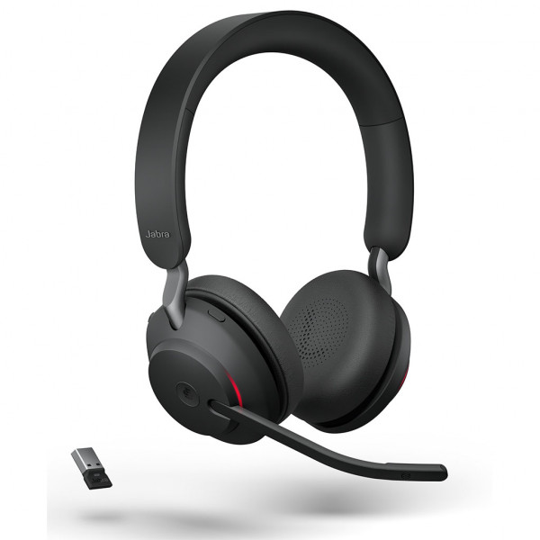 Jabra Evolve2 65 - USB-A UC Stereo - Headset - On-Ear - kabellos