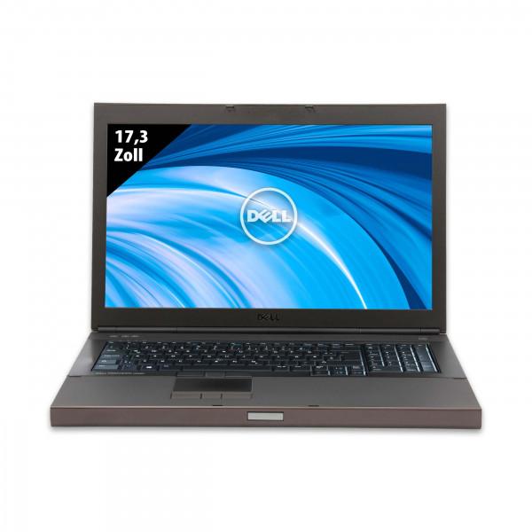 Dell Precision M6800 - 17,3 Zoll - Core i7-4900MQ @ 2,8 GHz - 32GB RAM - 2000GB SSD - FHD (1920x1080) - Nvidia Quadro K3100M - Win10Pro