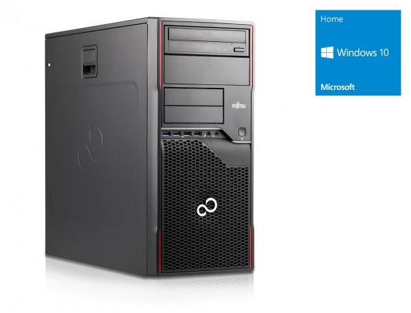 Fujitsu Celsius W420 MT - Core i3-2120 @ 3,3 GHz - 4GB RAM - 500GB HDD - DVD-ROM - Win10Home
