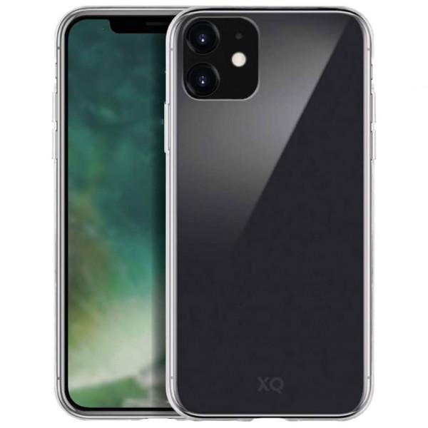 Xqisit Phantom Glas Cover - Handyhülle (iPhone 11) - Transparent