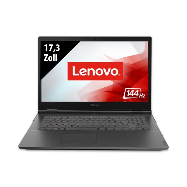 Lenovo Legion Y740 - 17,3 Zoll - Core i7-9750H @ 2,6 GHz - 16GB RAM - 1000GB SSD - 1000GB HDD - Nvidia GeForce RTX 2070 Max-Q - FHD 144 Hz (1920x1080) - Webcam - Win10Home
