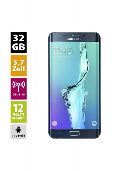 Samsung Galaxy S6 Edge+ (32GB) - Black Sapphire