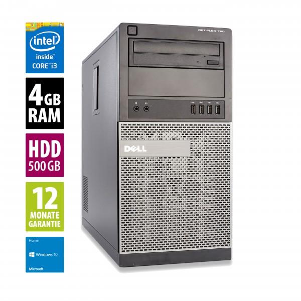 Dell OptiPlex 790 MT - Core i3-2120 @ 3,3 GHz - 4GB RAM - 500GB HDD - DVD-ROM - Win10Home