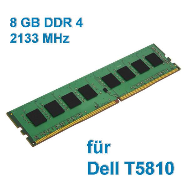 8 GB DDR4 RAM für PC - Speichertaktfrequenz: 2133 MHz (Nur für Dell T5810)