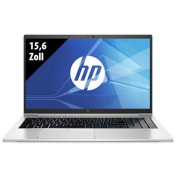 HP EliteBook 850 G7 - 15,6 Zoll - Core i5-10210U @ 1,6 GHz - 8GB RAM - 250GB SSD - FHD (1920x1080) - Webcam - Win10Pro