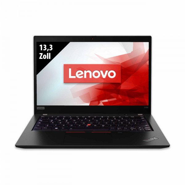 Lenovo ThinkPad X390 - 13,3 Zoll - Core i5-8365U @ 1,6 GHz - 16GB RAM - 250GB SSD - FHD (1920x1080) - Webcam - Win10Pro
