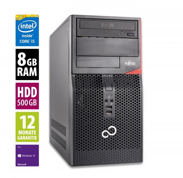Fujitsu Esprimo P520 MT - Core i5-4570 @ 3,2 GHz - 8GB RAM - 500GB HDD - DVD-RW - Win10Pro