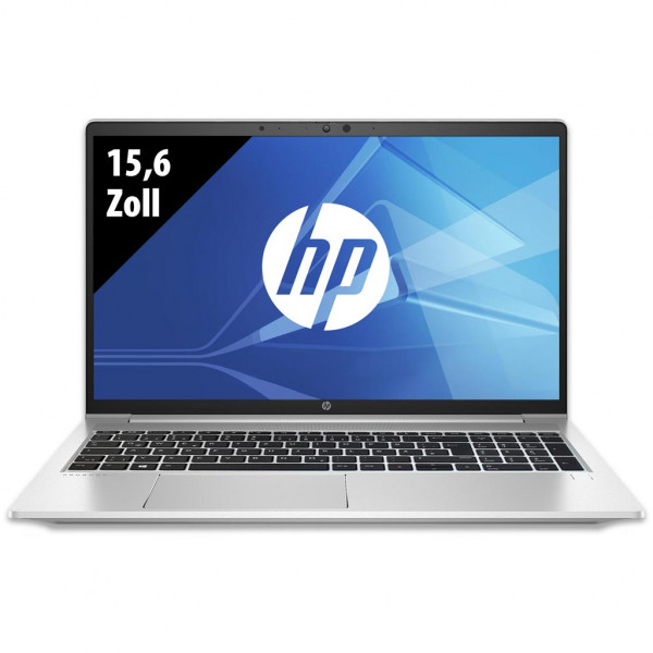 HP ProBook 650 G8 - 15,6 Zoll - Core i5-1135G7 @ 2,4 GHz - 8GB RAM - 250GB SSD - FHD (1920x1080) - Webcam - Win10Pro