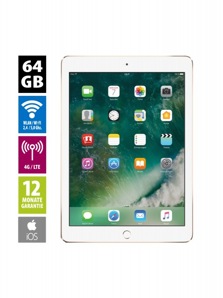 Apple iPad Air 2 Wi-Fi + Cellular (64GB) - gold