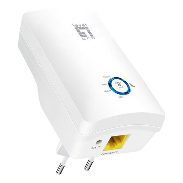 LevelOne AC1200 - Wireless Range Extender - Dualband (WRE-8011E)