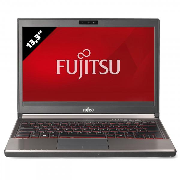 Fujitsu Lifebook E736 - 13,3 Zoll - Core i5-6200U @ 2,3 GHz - 16GB RAM - 500GB SSD - WXGA (1366x768) - Webcam - Win10Home