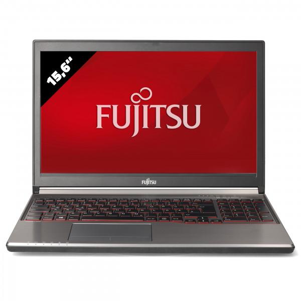 Fujitsu LifeBook E756 - 15,6 Zoll - Core i7-6600U @ 2,6 GHz - 8GB RAM - 500GB SSD - FHD (1920x1080) - Webcam - Win10Home