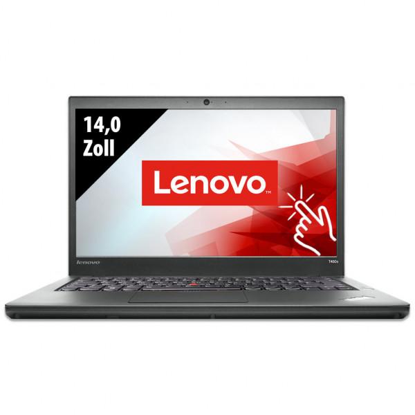 Lenovo ThinkPad T450s - 14,0 Zoll - Core i7-5600U @ 2,6 GHz - 12GB RAM - 250GB SSD - FHD (1920x1080) - Touch - Webcam - Win10Pro