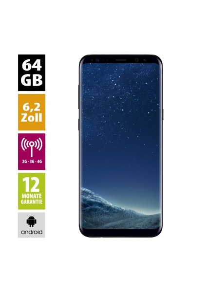 Samsung Galaxy S8+ (64GB) - Midnight Black