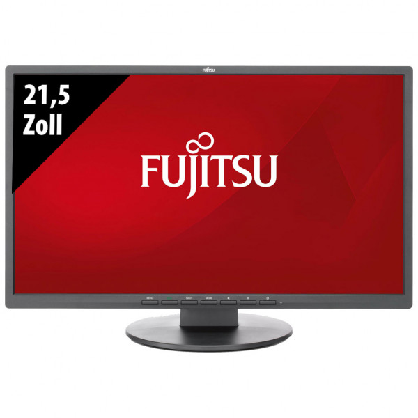 Fujitsu E22-8 TS Pro - 21,5 Zoll - FHD (1920x1080) - 5ms - schwarz