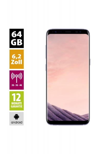 Samsung Galaxy S8+ (64GB) - Orchid Grey