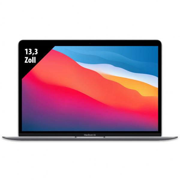 Apple MacBook Air (2020) Space Grey - 13,3 Zoll - M1 @ 3,2 GHz - 8GB RAM - 256GB SSD - WQXGA (2560x1600) - Webcam - macOS