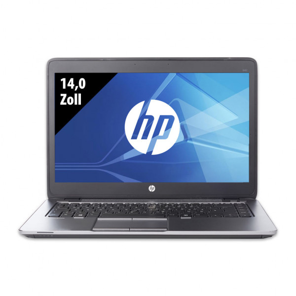 HP EliteBook 840 G1 - 14,0 Zoll - Core i5-4300U @ 1,9 GHz - 8GB RAM - 250GB SSD - WXGA (1366x768) - Win10Pro