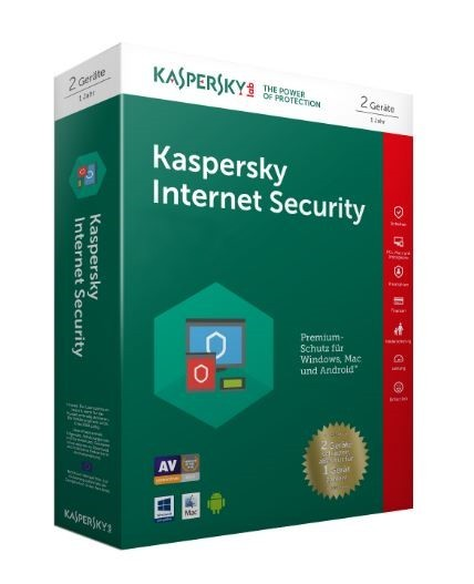 Kaspersky Internet Security 2er-Lizenz -Aktion-