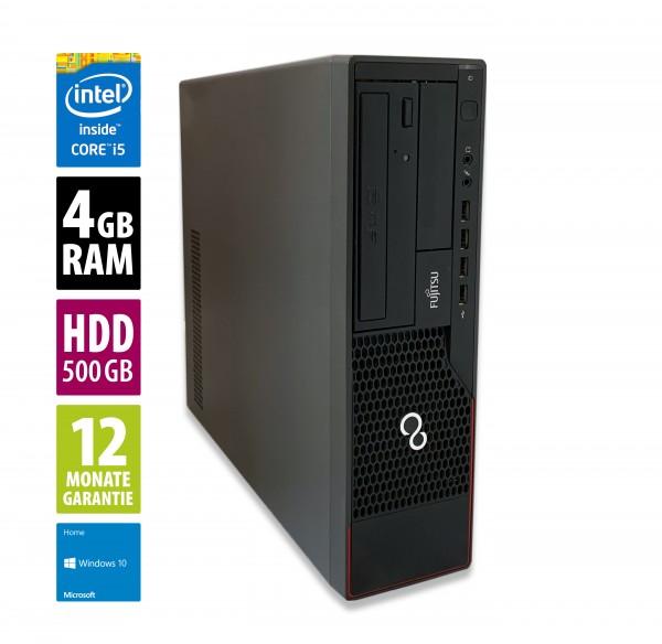 Fujitsu Esprimo E700 DT - Core i5-2400 @ 3,1 GHz - 4GB RAM - 500GB HDD - DVD-RW - Win10Home