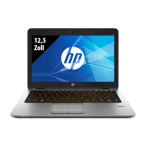 HP EliteBook 820 G2 - 12,5 Zoll - Core i5-5200U @ 2,2 GHz - 8GB RAM - 250GB SSD - WXGA (1366x768) - Webcam - Win10Pro