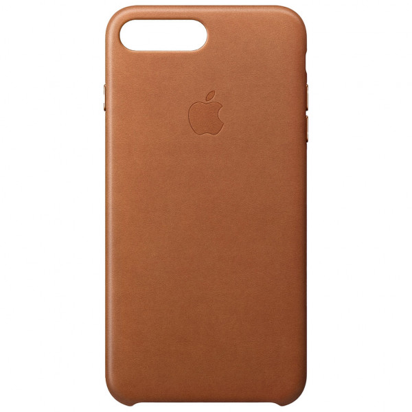 Apple Leder Case - Handyhülle (iPhone 7 Plus/8 Plus) - Sattelbraun