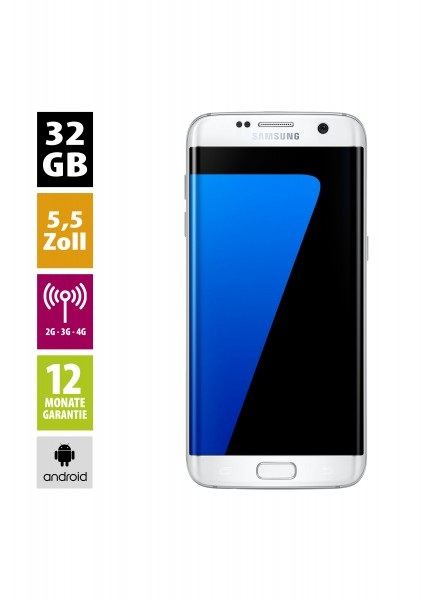 Samsung Galaxy S7 Edge (32GB) - White Pearl
