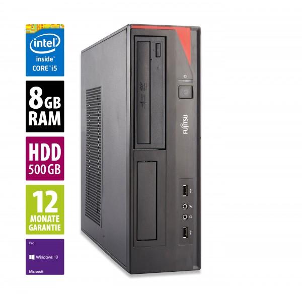 Fujitsu Esprimo E420 DT - Core i5-4460 @ 3,2 GHz - 8GB RAM - 500GB HDD - DVD-RW - Win10Pro