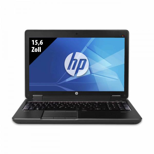 HP ZBook 15 - 15,6 Zoll - Core i7-4800MQ @ 2,7 GHz - 32GB RAM - 250GB SSD - Nvidia Quadro K1100M - FHD (1920x1080) - Webcam - Win10Home