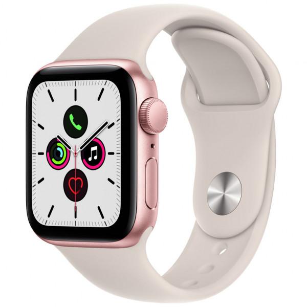 Apple Watch SE (GPS) 40 mm - Touchscreen - 32 GB - Gold (Aluminium)
