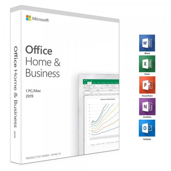 Microsoft Office Home & Business 2019 - Box-Pack