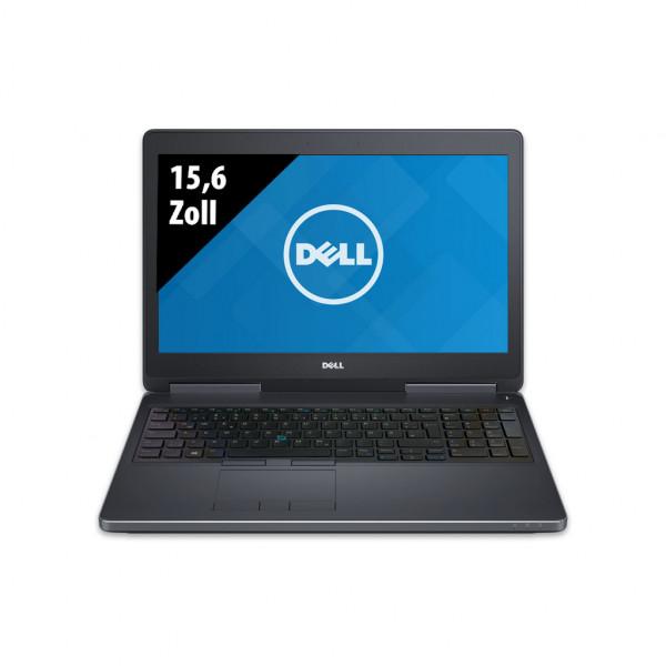 Dell Precision 7510 - 15,6 Zoll - Core i7-6820HQ @ 2,7 GHz - 16GB RAM - 500GB SSD - Nvidia Quadro M2000M - FHD (1920x1080) - Win10Pro