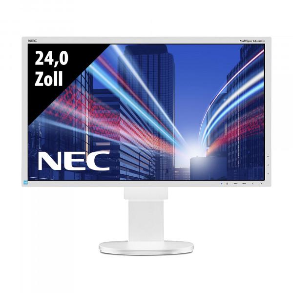 NEC MultiSync EA244UHD - 24,0 Zoll - 4K (3840x2160) - 5ms - weiß