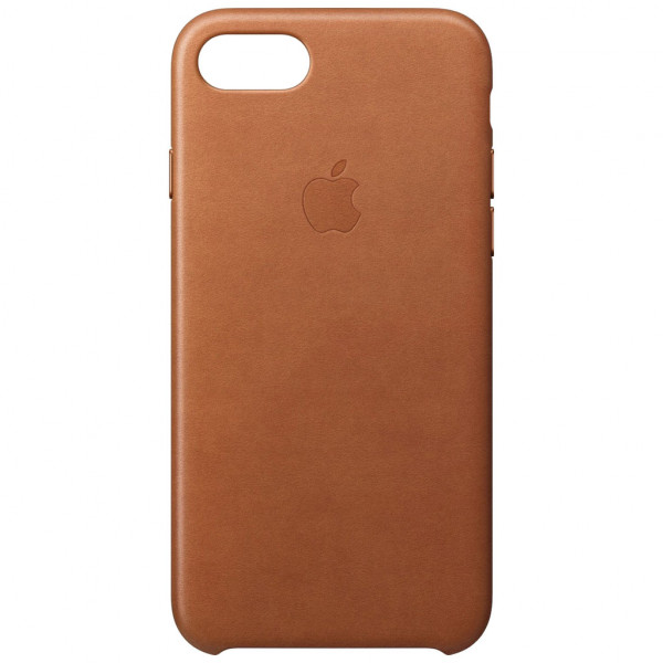 Apple Leder Case - Schutzhülle (iPhone 7/8) - Sattelbraun