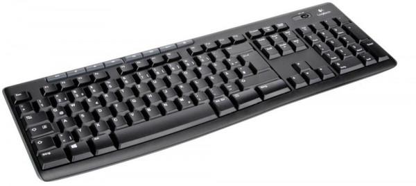 Logitech K270 - Funktastatur - schwarz