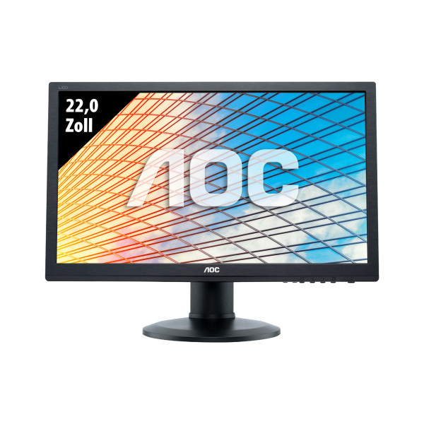 AOC E2260Pda - 22,0 Zoll - WSXGA+ (1680x1050) - 5ms - schwarz