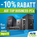 Rabatt auf Top Business PCs