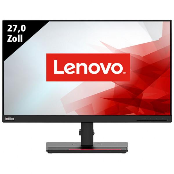 Lenovo ThinkVision T27q-20 - 27,0 Zoll - WQHD (2560x1440) - 6ms - schwarz