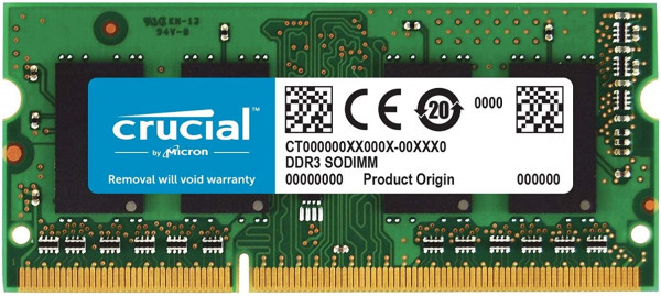 Crucial - 8GB - SODIMM - DDR3 - 1600MHz - CL11 - RAM