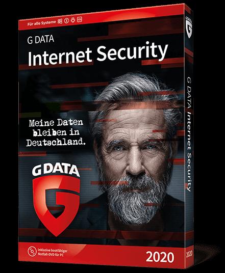 G Data Internet Security 2020 für 1 Gerät und 1 Jahr