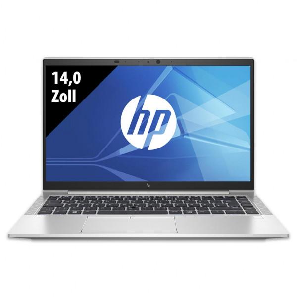 HP EliteBook 840 G7 - 14,0 Zoll - Core i5-10210U @ 1,6 GHz - 8GB RAM - 250GB SSD - FHD (1920x1080) - Webcam - Win10Pro