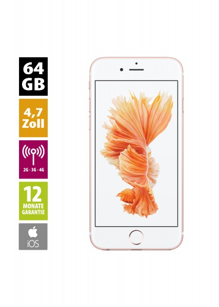 Apple iPhone 6s (64GB) - Rose Gold