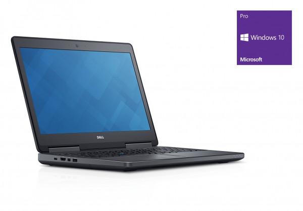 Dell Precision 7520 - 15,6 Zoll - Xeon E3-1535M @ 3,1 GHz - 16GB RAM - 500GB SSD - Quadro M2200 - FHD (1920x1080) - Win10Pro