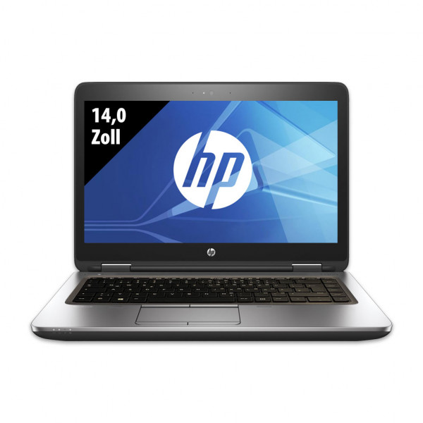 HP ProBook 640 G3 - 14,0 Zoll - Core i5-7300U @ 2,6 GHz - 16GB RAM - 500GB SSD - FHD (1920x1080) - Webcam - Win10Home